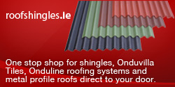 Roof Shingles Irland One of the largest importers and distributors of Bituminous Roof Shingles in Ireland.